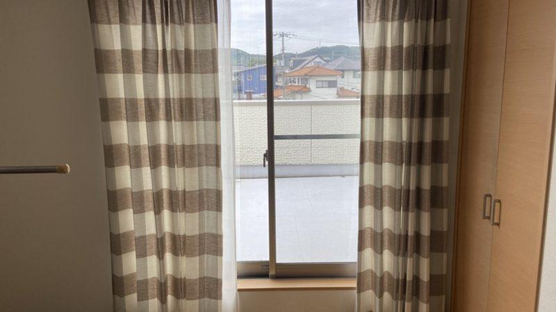 【倉敷市児島の電器屋さん】カーテンの取付をしてきました!